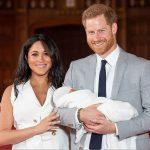Filho de Meghan Markle e do Princípe Harry é apresentado em Londres