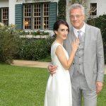 Pedro Bial e Maria Prata esperam segundo filho, o sétimo do jornalista
