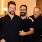 André Rodrigues, Bruno Carvalho e Allex Colontonio