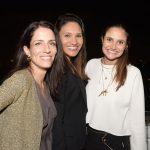 Camila Scarpi, Francisca Macedo e Cris Rudge