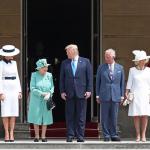 Trump se encontra com rainha Elizabeth em seu 1º dia de visita ao Reino Unido