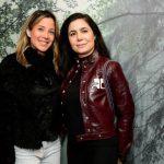 Claudia Soares e Adriana Kherlakian