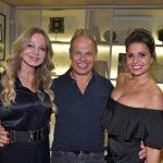 Debora Aguiar, Nilo Cottini e Carla Cottini