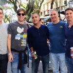 Edu De Castro, Edu Fleury, Douglas Camargo, Cristiano Izquerdo E Marcelo Nico