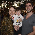 Giovanna, Francisco e Thiago Tchalian