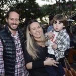 Guilherme Carvalho, Laura Goes e Raul