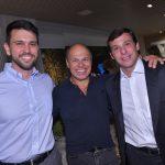 Guilherme Melhado, Leonardo Grimaldi e Nilo Cottini