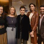 Kelly Amorim, Carla Amorim, Lilian Pacce, Chris Pitanguy e Rapha Mendonça