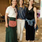 Lina Brochmann, Camila Azevedo e Vanessa Skilnik