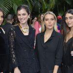 Livia Nunes, Bruna Hamu, Helena Silvarolli e Elisa Zarzur