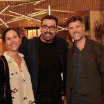 Mariana Iacomo, Caio Moraes e Fred von Bülow