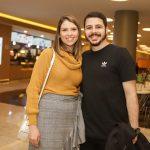 Mariana Borges e Enzo Mameri