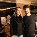 Paola Chinaglia e Edu Prado