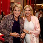 Riccy Souza Aranha e Gisela Rudge
