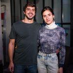 Roberta Julião e Felipe Catão