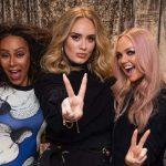 Adele volta aos seus dias de fã durante show das Spice Girls