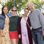 Beatriz, Maria Eugenia, Ana Cury e João Luis Souza Lima