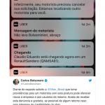 Carlos Bolsonaro cobra Uber após motorista se recusar a levar passageiro pró-Bolsonaro