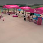 Barbie comemora aniversário com evento gratuito