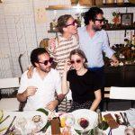 Victoire, Benjamin ,Ronen e Sabrina