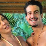 Claudia Raia revela porque interviu no relacionamento do filho com Nicole Bahls