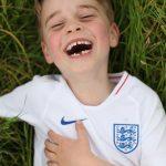 O príncipe George faz seis anos