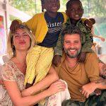 Giovanna Ewbank e Bruno Gagliasso publicam primeira foto do filho Bless