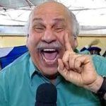 Márcio Canuto chora e emociona redação em despedida da Globo