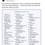 """Casal Obama revela """"playlist do verão"""": lista tem de Rihanna a Frank Sinatra"""