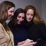 Fabiana Smith, Patrícia Toscano e Fabiana Pastore