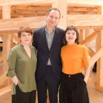 Fernanda Pitta, Jochen Volz e Amanda Amarante