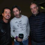 Gabriel Nehemy, Edu Fox e Marcelo Russonanno