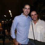 Guilherme Dias e Roberta Pires