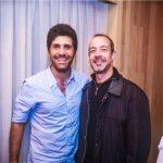 Rodrigo Clemente e Edgard Calfat
