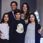Patrícia Carparelli, André Neuding e filhos