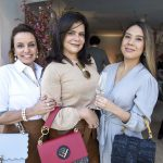 Patricia Aguiar, Wilma Carvalho e Larissa Yumi
