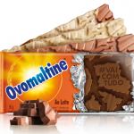 Novas barras de chocolate Ovomaltine