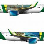"""Avião da Presidência receberá slogan """"Brazil, visit and love us"""""""