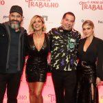 Bruno Garcia, Flavia Alessandra, Leandro Hassium e Monique Afradique