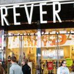 Forever 21 está à beira da falência