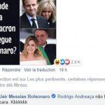Paulo Coelho pede desculpas ao povo francês pelo comportamento de Bolsonaro