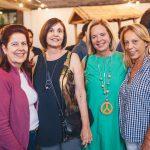 Denise Ribeiro, Bel Gonçalves, Cecilia Vieira e Cris Guizelini