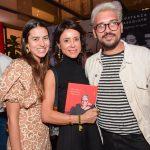 Amanda Cassou, Priscila Monteiro e Rodrigo Yaegashi