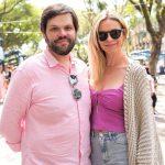 Caio Carvalho e Vanessa Rizzon
