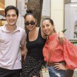 Danilo, Sabrina Sato e Giuliana Campois