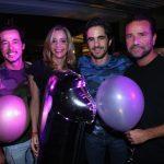 Gabriel Nehemy , Carol Campos Salles, Anuar Tacach, DJ Buga Moreira
