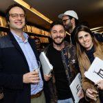 Leonardo Peliz, Ricardo Zanetti e Paula Verssoni