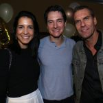 Luana Bichuetti e Carlos Albertotti e Nicholas Mccarthy
