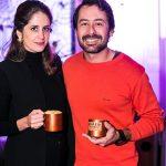 Marina Pinheiro e Bruno Machado