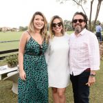 Rebecca Barreto, Victoria Sarro e Paulo Ferreira